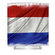Netherlands Flag Shower Curtain