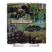 History Of Bristol Tn/va Shower Curtain