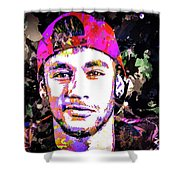 Neymar Shower Curtain