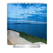 Night Is Near Shower Curtain
