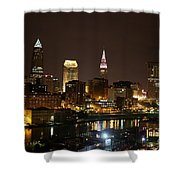 Nightlife In Cleveland Shower Curtain