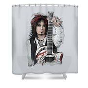 Nikki Sixx 4 Shower Curtain