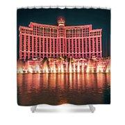 November 2017 Las Vegas Nevada - Scenes Around Bellagio Resort H Shower Curtain
