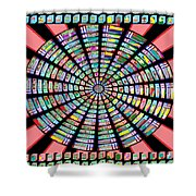 Novino Sale Fineart Chakra Mandala Round Circle Inspirational Healing Art At Fineartamerica.com By N Shower Curtain