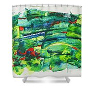 Nowruz Shower Curtain