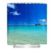 Oahu, Lanikai Beach Shower Curtain