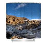 Oil Painting Landscapes Shower Curtain