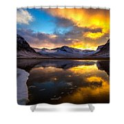 Original Landscape Paintings Shower Curtain