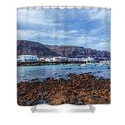 Orzola - Lanzarote Shower Curtain