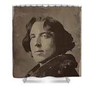 Oscar Wilde 2 Shower Curtain