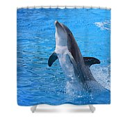 Out Of The Blue Shower Curtain