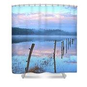 Palsko Lake Shower Curtain