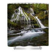 Panther Creek Falls Shower Curtain