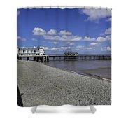 Penarth Pier 3 Shower Curtain