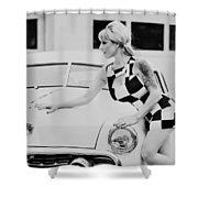 Pin Up #19 Shower Curtain