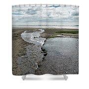 Plymouth, Massachusetts, Beach Shower Curtain