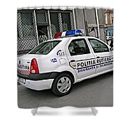 Police Shower Curtain