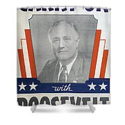 Presidential Campaign, 1940 Shower Curtain