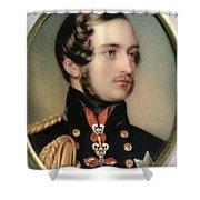 Prince Albert Henry Pierce Bone Shower Curtain