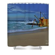 3- Pump House Shower Curtain