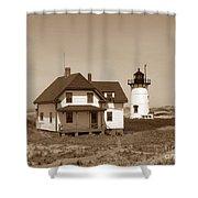 Race Point Lighthouse Shower Curtain