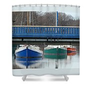 3 Reflections Shower Curtain