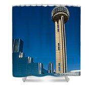 Reunion Tower - Dallas Texas Shower Curtain