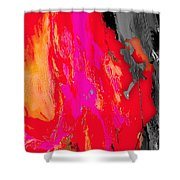 Rock Climber Collection Shower Curtain
