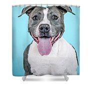 Roscoe2 Shower Curtain