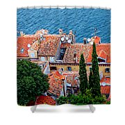 Rovinj - Croatia Shower Curtain
