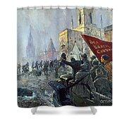 Russian Revolution, 1917 Shower Curtain