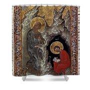 Saint John Shower Curtain by Granger
