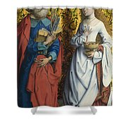 Saints Peter And Dorothy Shower Curtain