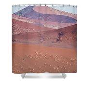 Sand Dune, Sossusvlei, Namib Desert Shower Curtain