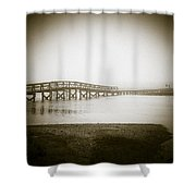 Sandwich Boardwalk Shower Curtain
