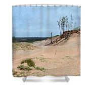 Sandy Shower Curtain