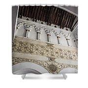 Santa Maria La Blanca Synagogue - Toledo Spain Shower Curtain