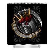 Santa Muerte Shower Curtain