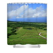 Sao Miguel - Azores Shower Curtain