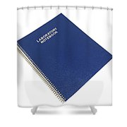 Scientific Notebook Company Shower Curtain