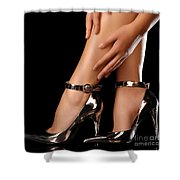 Sexy Shoes Shower Curtain