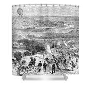 Siege Of Paris, 1870 Shower Curtain