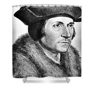 Sir Thomas More (1478-1535) Shower Curtain by Granger