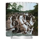 Snowdonia National Park Shower Curtain