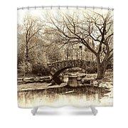 South Bridge - Central Park Shower Curtain