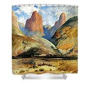 South Utah Shower Curtain