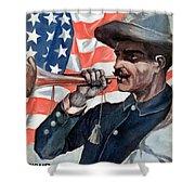 Spanish-american War, 1898 Shower Curtain