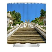 Staircase Of Bom Jesus Do Monte Shower Curtain