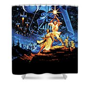 Star Wars Episode Iv - A New Hope 1977 Shower Curtain