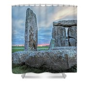 Stonehenge - England Shower Curtain